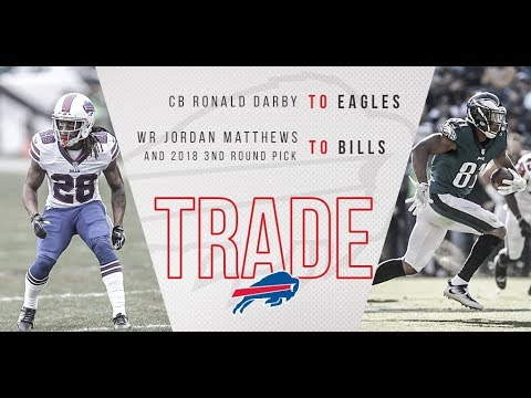 Eagles Trade Jordan Matthews to The Bills For Ronald Darby!