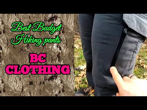 Best Budget Hiking Pants? Bc Clothing
