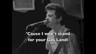 Justin Sane -- Gas Land Terror (/w lyrics)