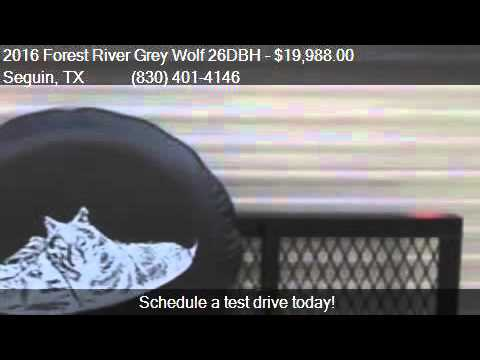 2016 Forest River Grey Wolf 26DBH for sale in Seguin, TX 78