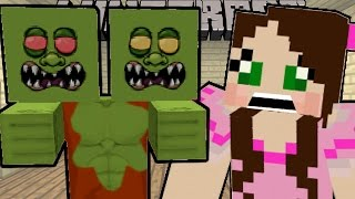 Minecraft: TOO MANY ZOMBIES!! (2 HEADED, GIANTS, EVIL, & MORE!) Mod Showcase