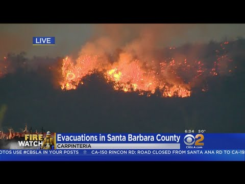 Thomas Fire Now Burning In Decades-Old Brush