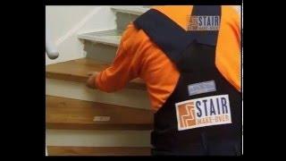 Video installatie Renoveer zelf je trap met Stair Make-Over