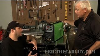 How To Set Up And Use A Tig Welder With Mr. Tig -Ericthecarguy