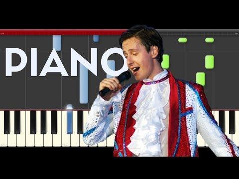 Vitas 7th Element Piano Midi tutorial Sheet app Cover Karaoke