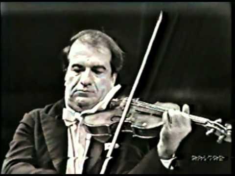 """Paganini Concerto n. 4 + """"Le Streghe"""" (Ruggiero Ricci - Piero Bellugi)"""
