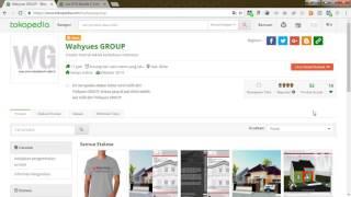 Marketplace Resmi Tokopedia Wahyues GROUP