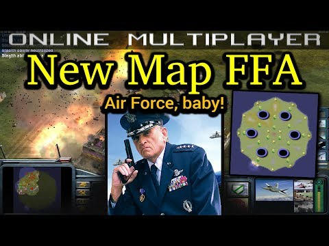 New Map FFA (version 20) - Air Force General - Pro Rules