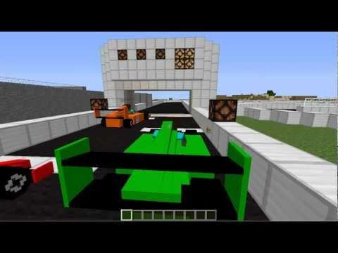 майнкрафт сервера с гонками