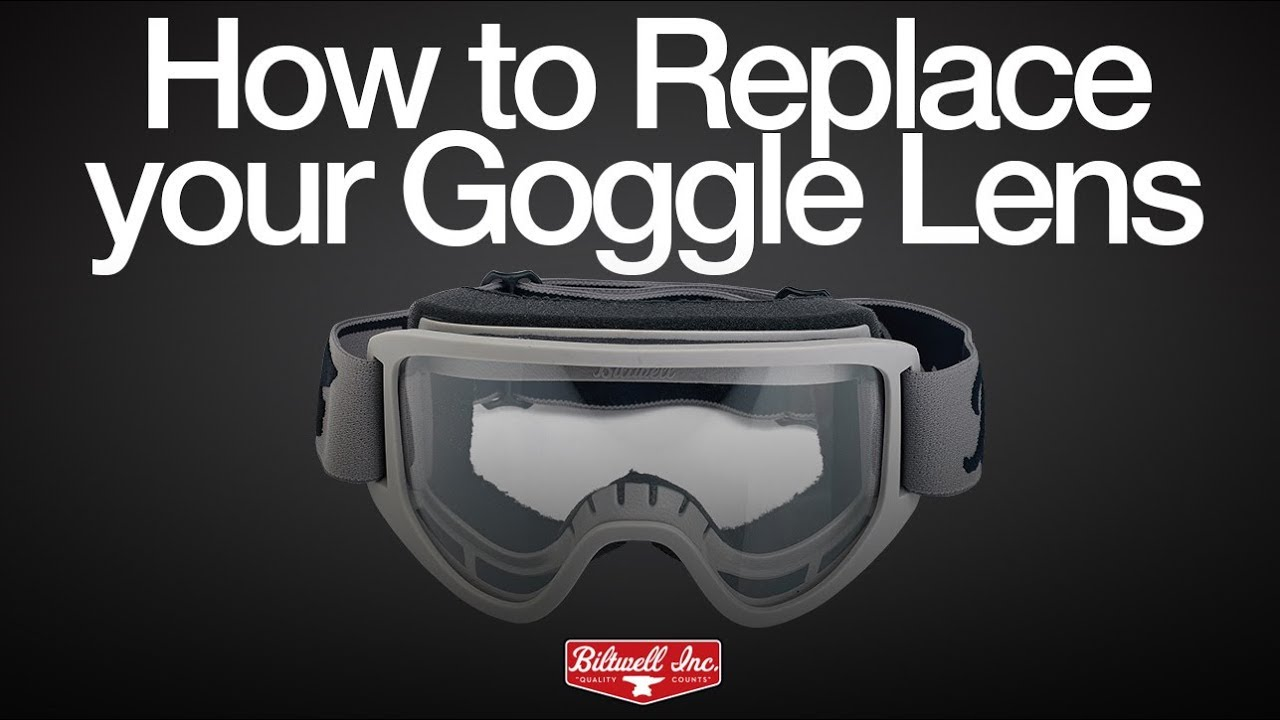 a87adcbf4b8f How to Replace your Goggle Lens - YouTube