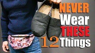 12 Things Men Should NEVER Wear!  (Instagram Edition)