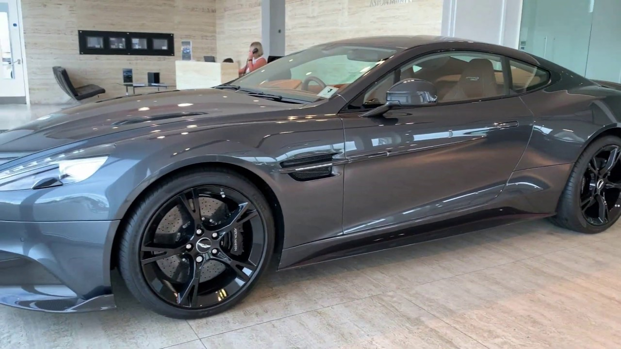 Aston Martin Vanquish S Ultimate Finished In Xenon Grey Youtube