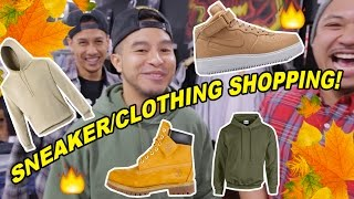 FALL/WINTER SHOPPING! WHAT TO BUY! SNEAKERS \u0026 CLOTHING!