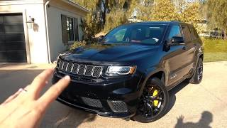This is why the Trackhawk should be my next SUV!