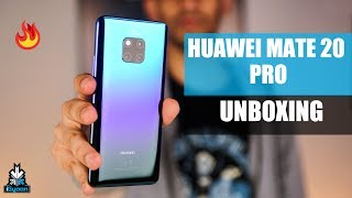 Huawei Mate 20 Pro Unboxing And First Look