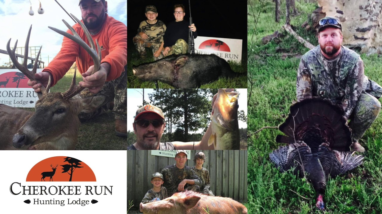 Cherokee Run Hunting Lodge – Wild Boar Hunting and Whitetail