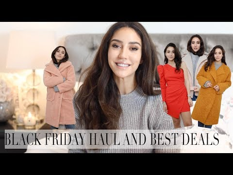 BLACK FRIDAY HAUL AND BEST DEALS AND DISCOUNT CODES | Tamara Kalinic