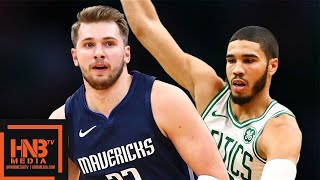 Dallas Mavericks vs Boston Celtics - Full Game Highlights | November 11, 2019-20 NBA Season