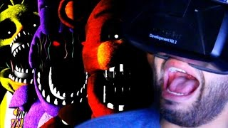 VIRTUAL REALITY Five Nights At Freddy's! | YOU'RE INSIDE! | FNAF 3D