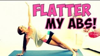 POP Pilates: Flatter my Abs Workout