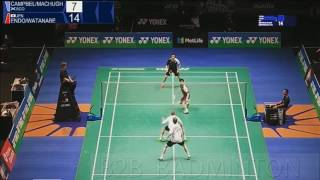 2017 yonex all england open q md campbell machugh vs hiroyuki endo yuta watanabe