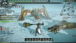 Monster Hunter Online - Challenges Double Tigrex Party Gameplay