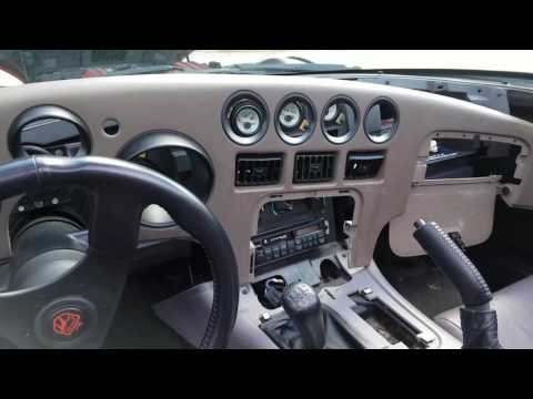 How To Remove Dash And Light Switch Gen 1 Dodge Viper