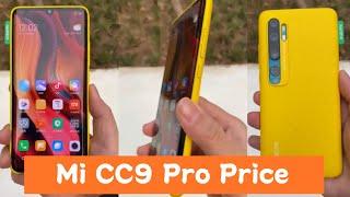 Mi CC9 pro Price in India l 108MP Penta Rear Camera l 5,260mAh Battery l Full Specification l Review