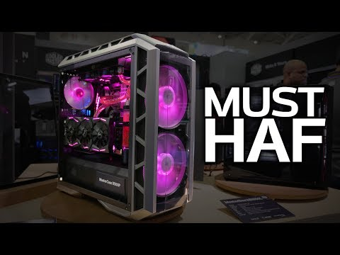 THE HAF IS BACK! Cooler Master's H500P & Cosmos C700P Cases