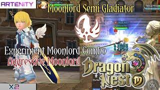 Moonlord Combo Semi Gladiator Dragon Nest M