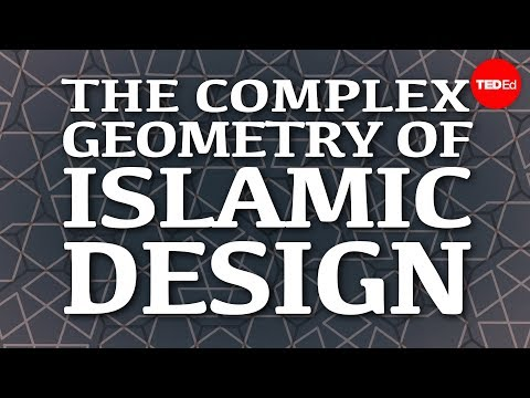 Video image: The complex geometry of Islamic design - Eric Broug