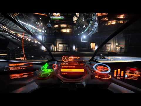 Elite dangerous- Grinding credits... R.i.p.ing ships