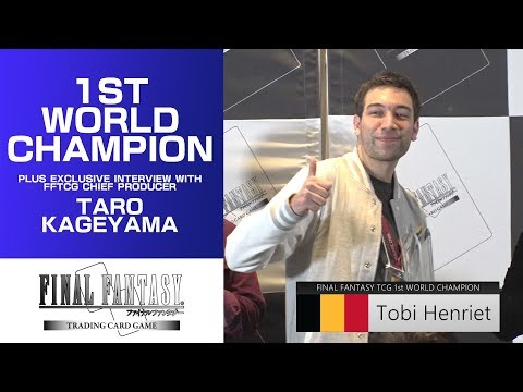 Interview with the 1st FFTCG World Champion and the Chief Producer Taro Kageyama