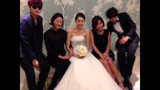 2013・7・13 ユン・ジミン結婚式 Cre:Hong Suk Chun's Twitter.