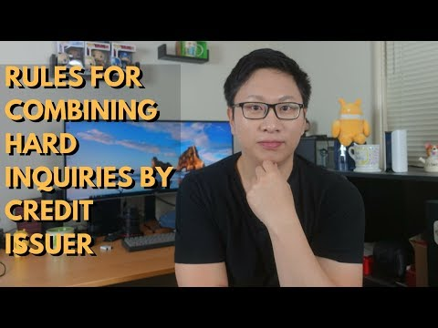 Combining Inquiries Rules By Issuer (Chase, Amex, Etc.)