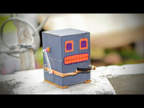How to Make a Robot that Eats Coins | DIY Robot Bank