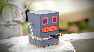 How to Make a Robot that Eats Coins | DIY Robot Bank