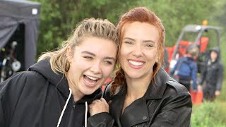 Black Widow: ON SET With Scarlett Johansson, Florence Pugh, David Harbour and More! (Exclusive)