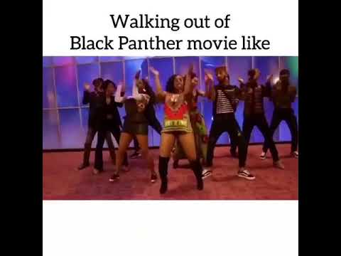 Black Panther South African Dance Routine