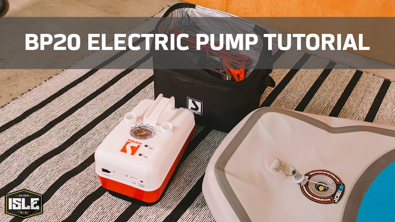 Bp20 Electric Pump With Chargeable Battery Youtube