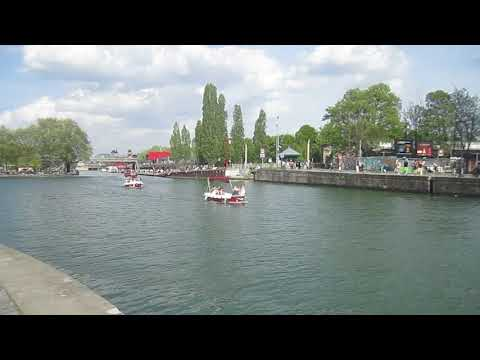 Canal de l'Ourcq au niveau de la Villette 2