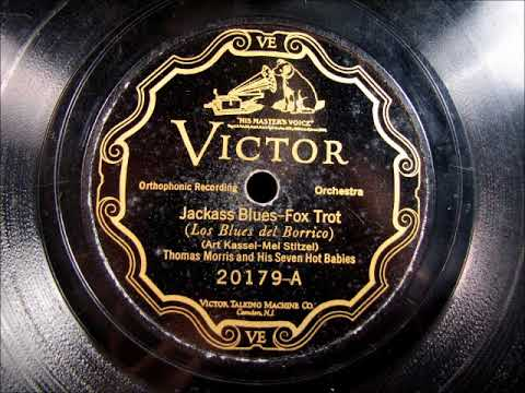 JACKASS BLUES Hot Jazz by Thomas Morris and his Seven Hot Babies 1926