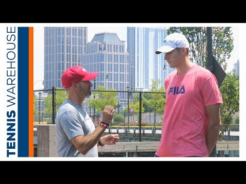 ATP's John Isner Chats About His Prince Beast Pro 100 LB Racquet