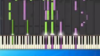Shanice - Saving forever for you (ge) [Piano Tutorial Synthesia]