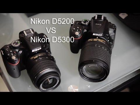 D5300 VS D5200