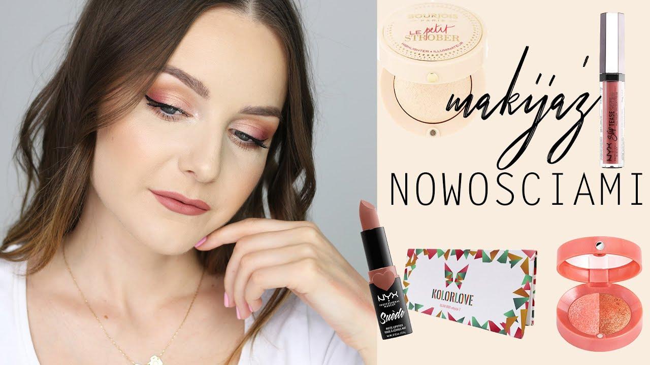 91daf4c5 MAKIJAŻ NOWOŚCIAMI + test | Milena Makeup
