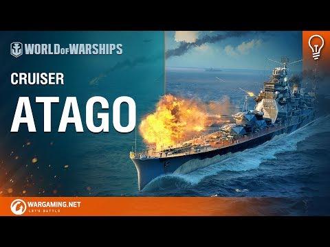 Premium Ship Spotlight - Cruiser Atago