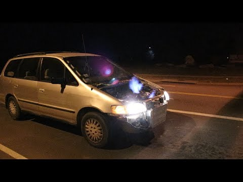 Turbo Minivan Makes Crazy Power!