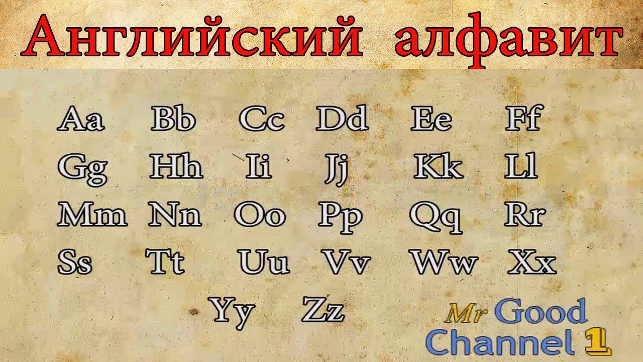 Транскрипция английских букв: удобная таблица с произношением 16