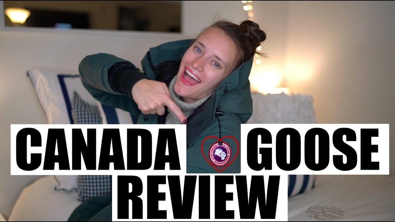 canada goose parka review
